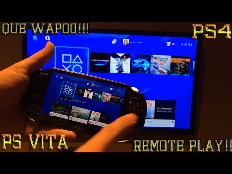 PS4 en PSVITA Remote Play PROBANDO FIFA 15 !!!HEVYYY!!! SUSCRIBETE wmv