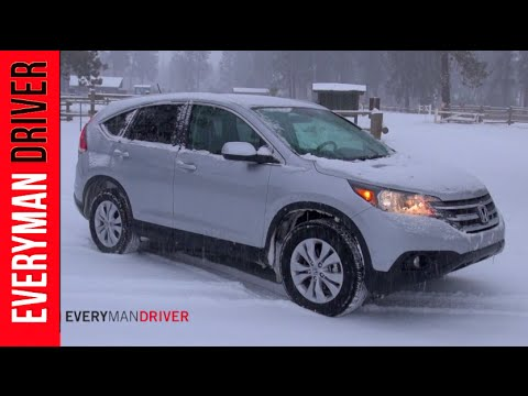 2014 Honda CR-V SNOWY Off-Road Review on Everyman Driver