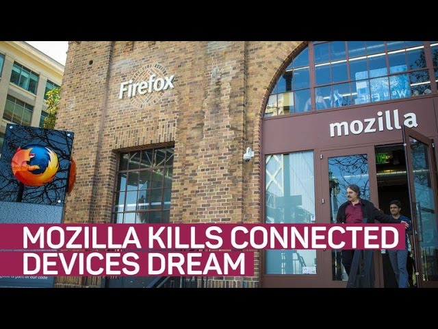 Mozilla kills off its connected devices dream