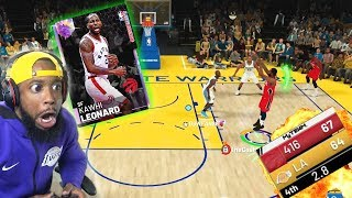 Playoff Kawhi Leonard Discard Challenge Last Second Buzzer Beater! NBA 2K19