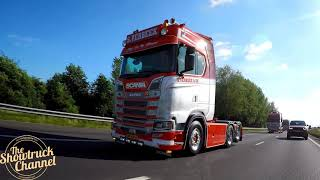 SCANIA S730 PURE V8 SOUND