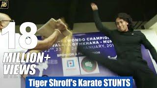 Tiger Shroff's Karate STUNTS Training In Public