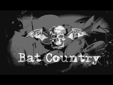 Drum Cover Of Avenged Sevenfold - Bat Country (hd 1080) video
