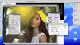 Coloring and Editing Fashion Photo - Photoshop Tutorial