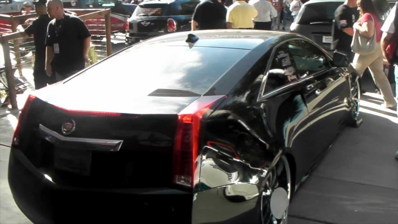Dubsandtires Com 2011 Cadillac Cts Wagon 20 22 Lexani Lx