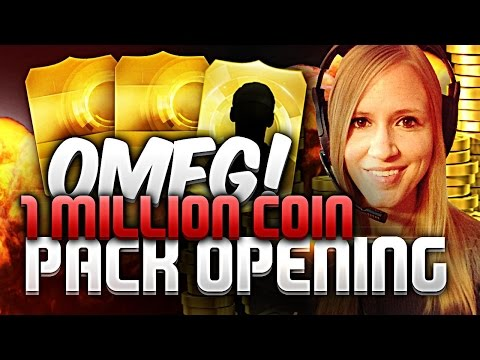 1 Million Coin Pack Opening For Sif Neymar!!!! video