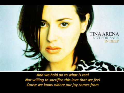 Tina Arena - Not For Sale