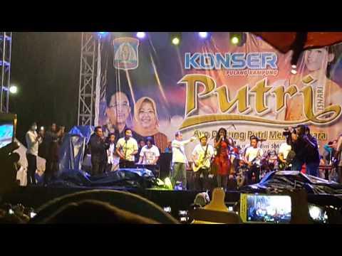Putri DA4 konser pulang kampung 7 mei 2017 part 1