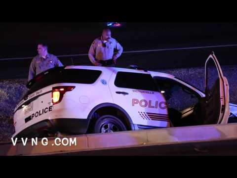 Victorville Deputy Involved in 3 Car Accident on Amargosa Road