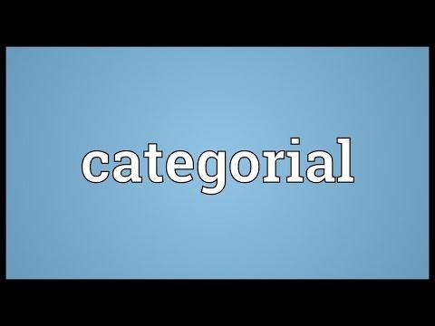 Header of categorial