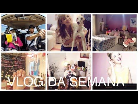 🎬 Vlog da semana: Projeto secreto, gravações, quarto decorado e muito mais!