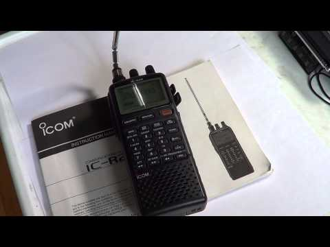 Icom IC R20 Review part 1