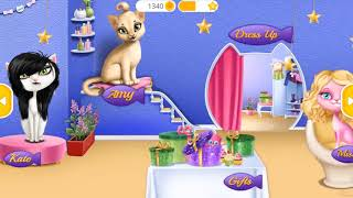 Cat Hair Salon Birthday Party   Play Fun Animal Hair Salon   Cat Style Makeover Fun Kids Games