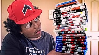 PLAYING EVERY SINGLE NBA 2K GAME IN ONE VIDEO...