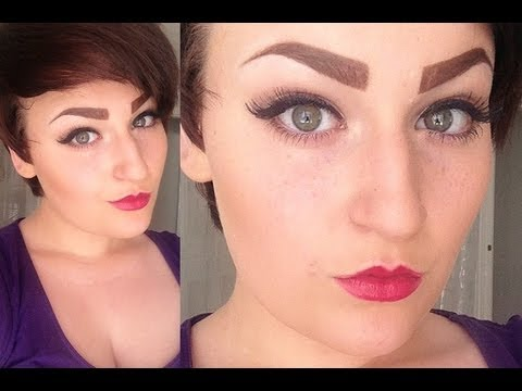 Discussion Rant The Thick Boxy Drawn On Eyebrow Trend