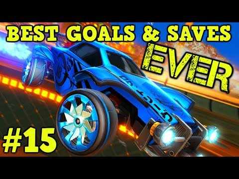 Rocket League Montage: BEST GOALS & SAVES EVER #15 - Freestyle goals, epic plays & more [HD]