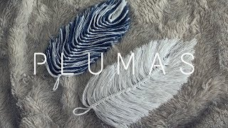 PLUMAS DE HILO/ FEATHERS MADE OUT OF YARN