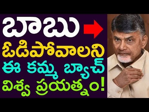 That Kamma Caste People Are Trying To Defeat Chandrababu In Next Election's ! ?? || Taja30