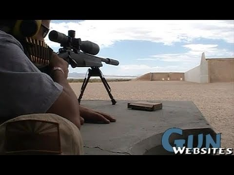 Shooting Remington 700 SPS Tactical AAC-SD