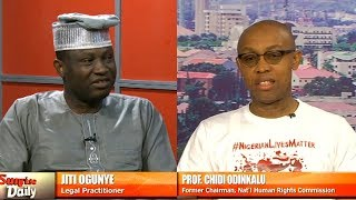 Prof. Odinkalu, Jiti Ogunye Disagree Over FG's Anti Corruption Campaign Pt.1 |Sunrise Daily|