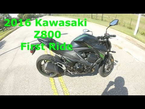 2016 Kawasaki Z800 First Ride   Review