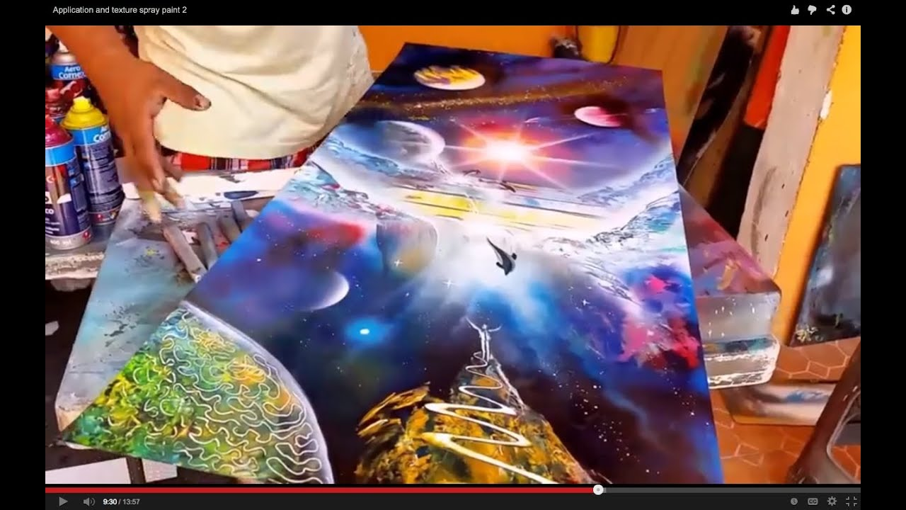Spray Paint Art M Xico Youtube