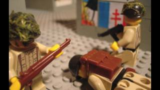 Lego ww2 Battle of Carentan