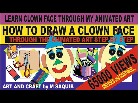 learn  how to make a clown face by m saquib   illustrator paper doll clip art costume paper doll clip art images