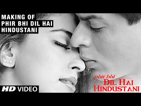 Making of Phir Bhi Dil Hai Hindustani   Juhi...