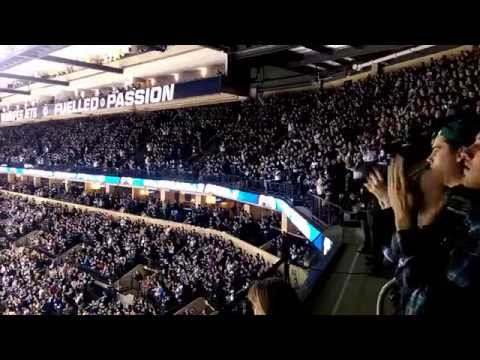 Standing Ovation For The Huge Win (Winnipeg Jets vs San Jose Sharks, March 17, 2015)