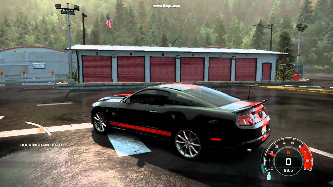 Need For Speed Hot Pursuit 3 2010 Ford Shelby Gt500