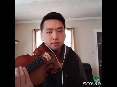 Cia ua ib zaj dab neeg Violin Cover By Suav Xyooj