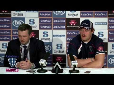 Rebels vs Waratahs post match presser | Super Rugby Video Highlights