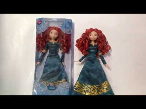 Disney Store 2014 Classic Doll - Merida (Short Review)