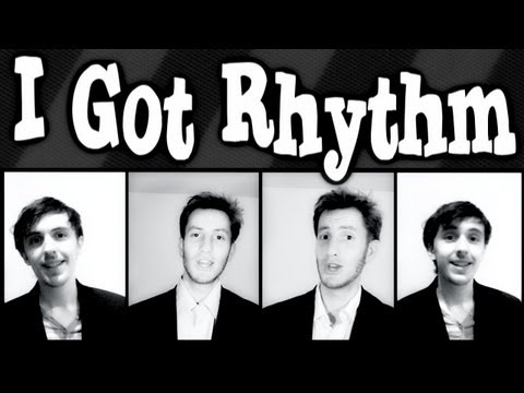 I Got Rhythm (Gershwin) - A CAPPELLA barbershop quartet - Trudbol &amp; JRoseJazz