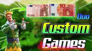 NEUER SHOP🔴20€ CUSTOM GAMES 🏆|DUO Turnier mit PREISGELD🏆 |SPENDENSTREAM | LIVE DEUTSCH