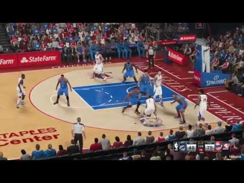 NBA 2K15 Oklahoma City Thunder Vs Los Angeles Clippers 30-10-2014
