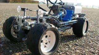 Lego Technic IR RC race car