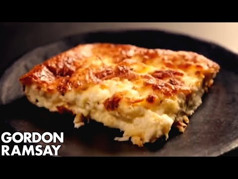 Cheat's Soufflé With Three Cheeses - Gordon Ramsay