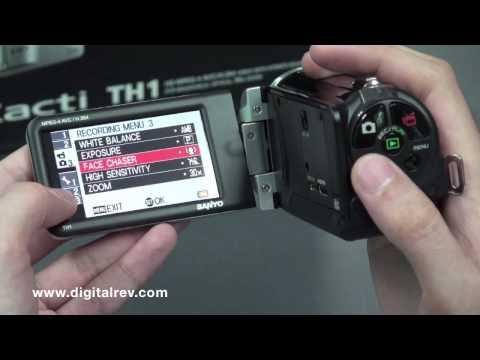 Sanyo Xacti VPC-TH1 Review Video by DigitalRev