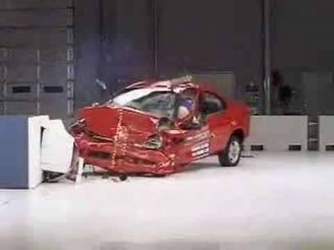 Crash Test 2000 - 2005 (Discontinued) Dodge Neon  (Front) IIHS