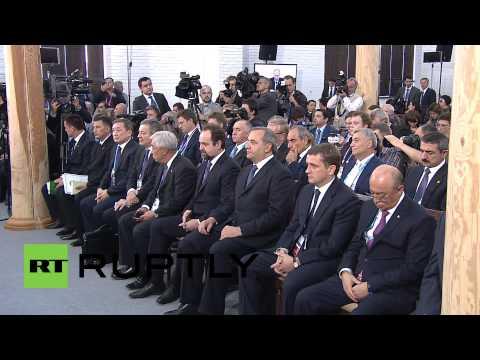 "Russia: Putin praises ""substantive"" Caspian Sea summit"