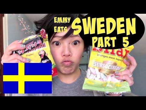 Emmy Eats Sweden part 5 - tasting more Swedish sweets