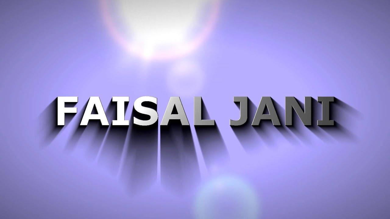Name 2012 Faisal Name