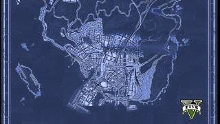 GTA 5 official blue print map pics