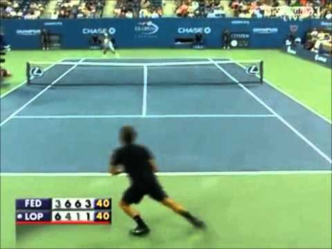 The exciting tennis of Feliciano Lopez