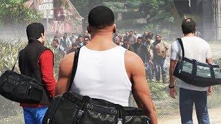 Michael, Trevor & Franklin in a Zombie Outbreak! (GTA 5)