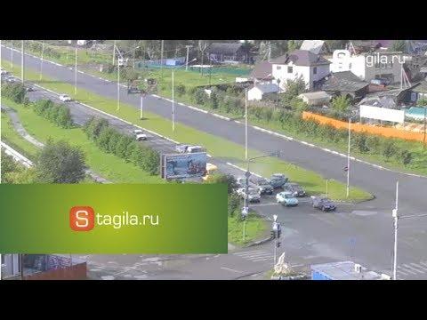 В Нижнем Тагиле 8 машин пострадало в ДТП