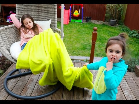 Bad Baby Emily Steals Sister's Blanket - Are you...