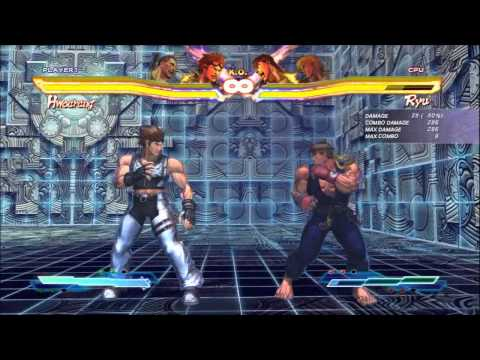 SFxT Practical Cross Rush/Tag Finishers: Julia, Hwoarang, XiaoYu